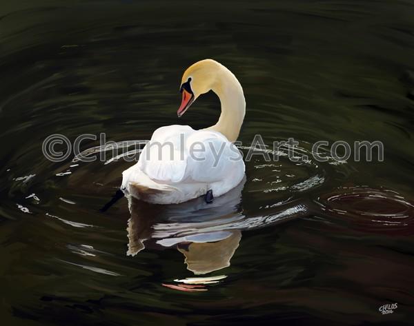 Serenity by Chumleys Art