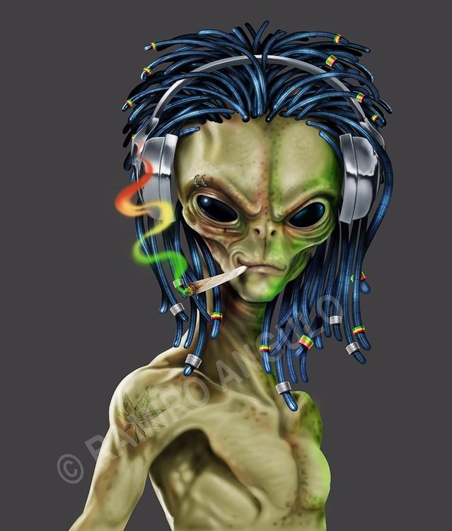 Rasta Alien