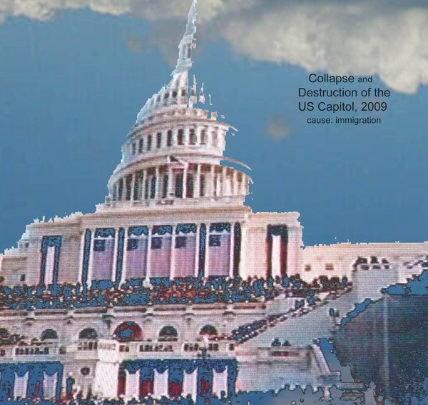 Destruction of the US Capitol
