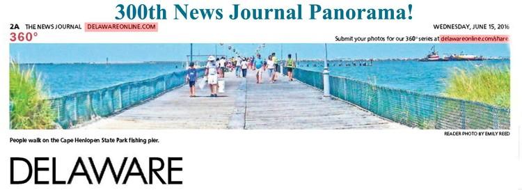 300th Wilmington News Journal Panorama