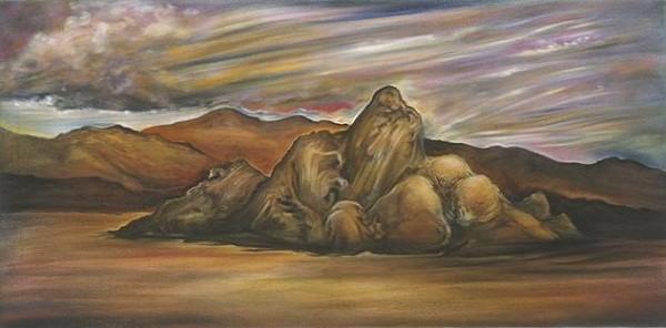 California Horizons: Ubehebe Crater, 2004
