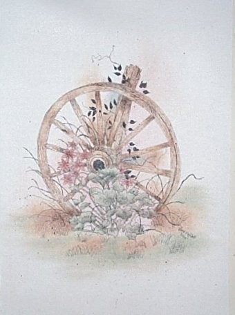The Old Wagon Wheel