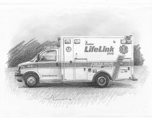 wp-lg ambulance drawing