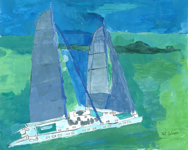 Nat's fourth nautical piece of art