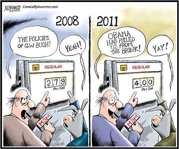 Obama's Gas Prices (Cartoon)