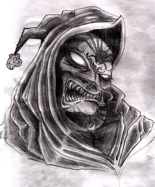 Orc Death Santa