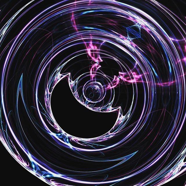 Violet saturn rings · · · #art #digitalart #digital #artist #illustration #digitalpainting #digitald