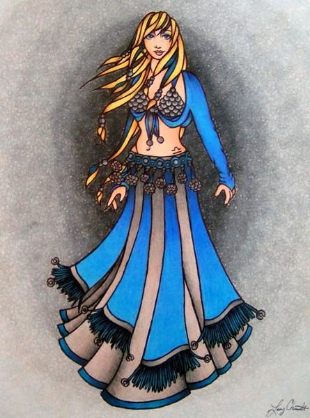 Libra Belly Dancer