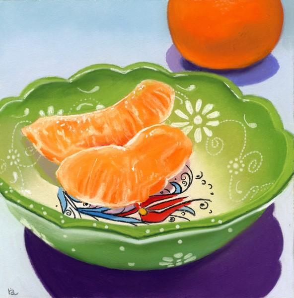 The Gift - orange slices