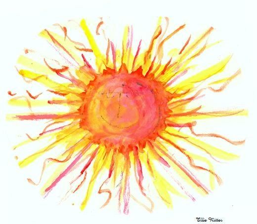 Water Color Sun