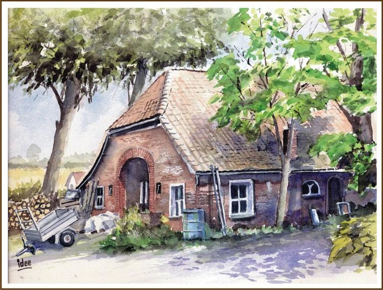 Old farm-house