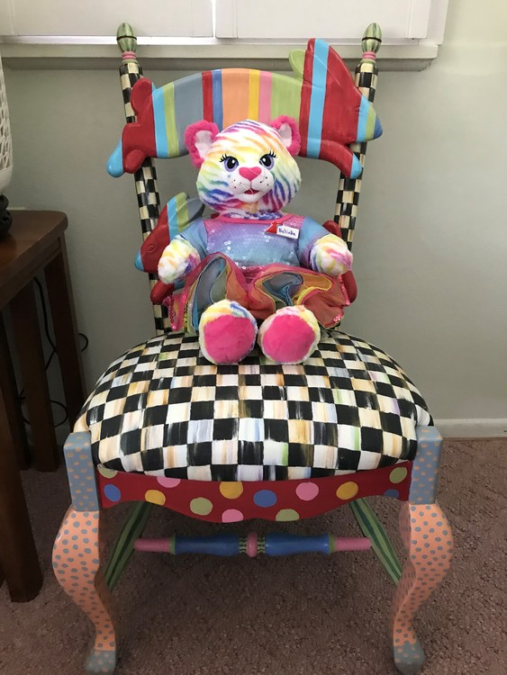 Belinda in MacKenzie-Childs Chair