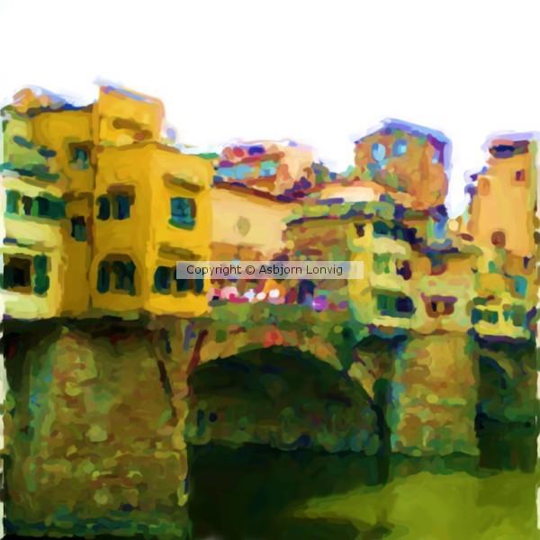 Ponte Vecchio NT Q Painting