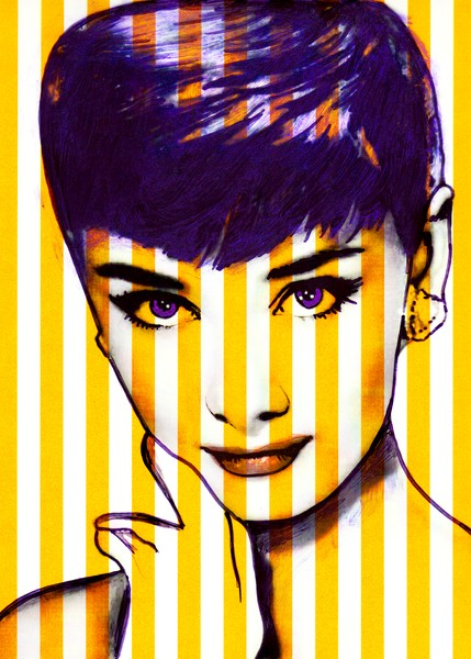 Audrey Yellow Stripes