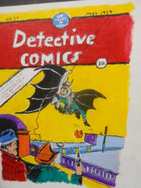 Detective Comics no 27 retro cover art