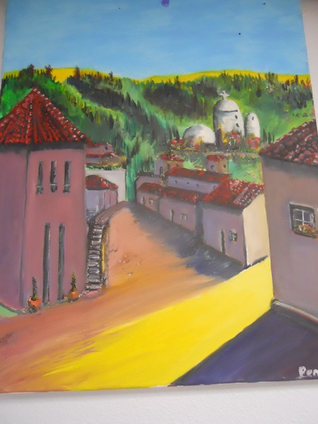 Spanish Village oil original