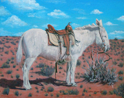 Navajo Hitching Post
