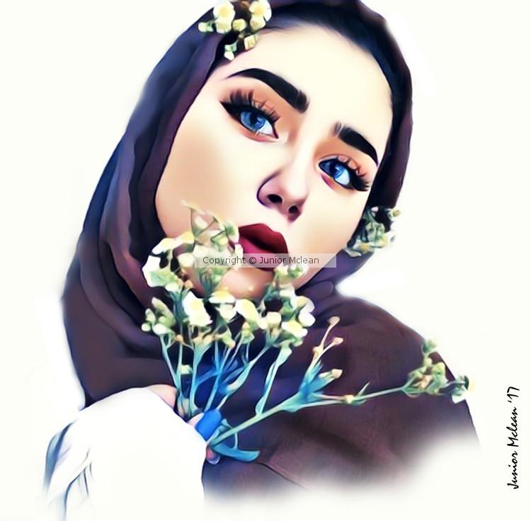 My Artwork of Asma 2017