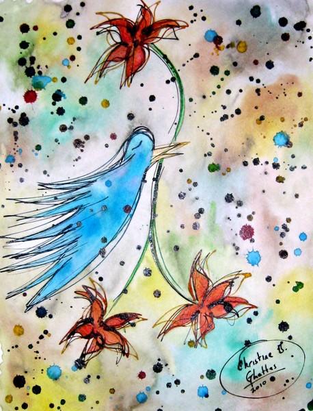 Rachel's Bluebird