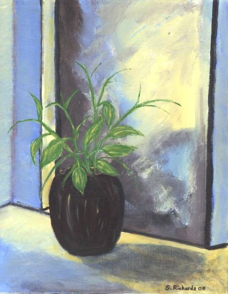 The Plant in Blue