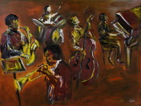 Jazz Down at Tims by Liz Sutcliffe