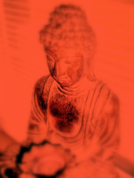 Orange Chakra Buddha