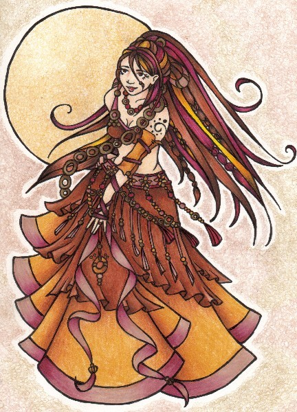 Autumn Belly Dancer