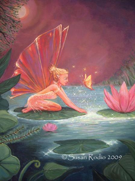 The Lotus Pond Fairy