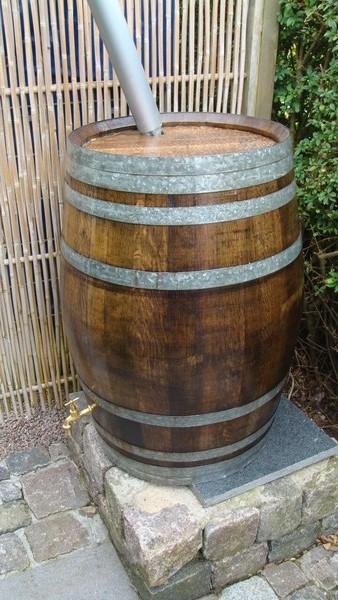 New rain barrel vine *hickup*