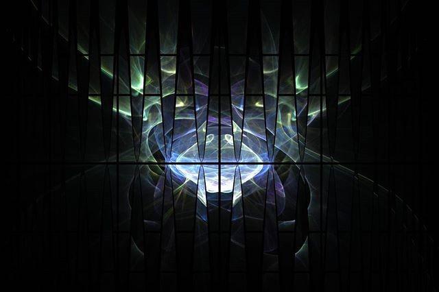 Northern lights prison · · · #fractal #fractalart #fractals #digitalart #art #fractalplanet #amazing