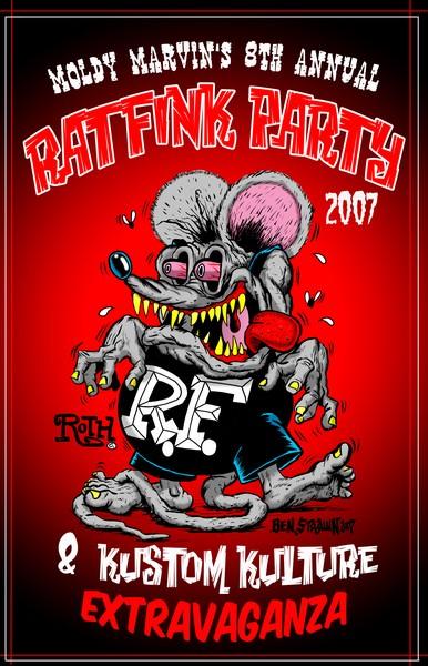 RAT FINK PARTY