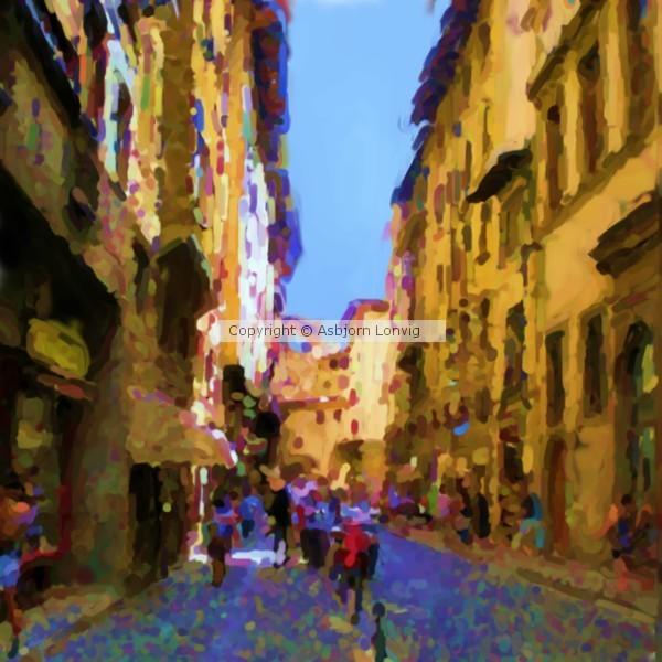 Via de Guicciardini Painting