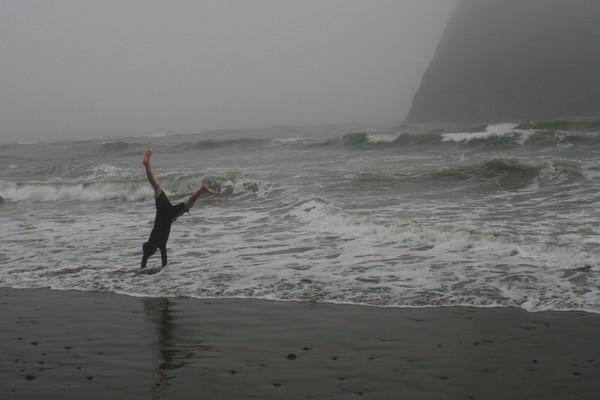Agile Lad at the Ocean