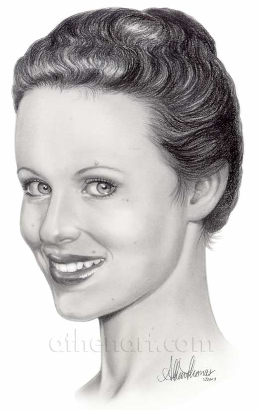 Thora Birch Portrait