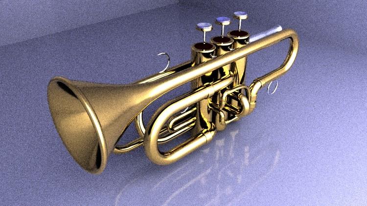 trumpet prop