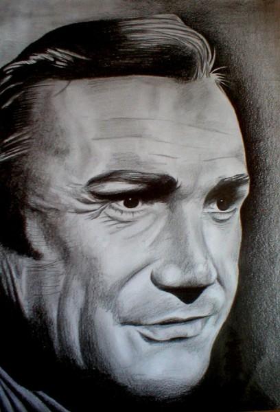 Sean Connery portrait
