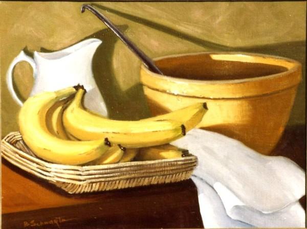 Basket Bananas