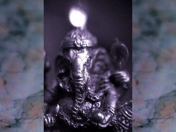 Ganesha Indigo Flow
