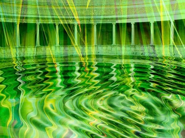 Palm Water Courtyard