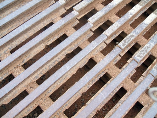 Cattle Grate...Abstract Art?