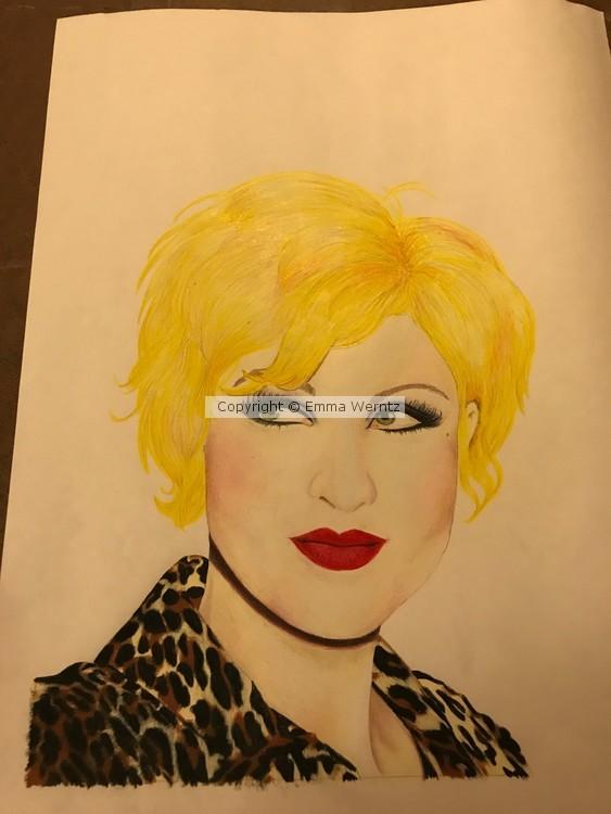 Cyndi Lauper-work in progress