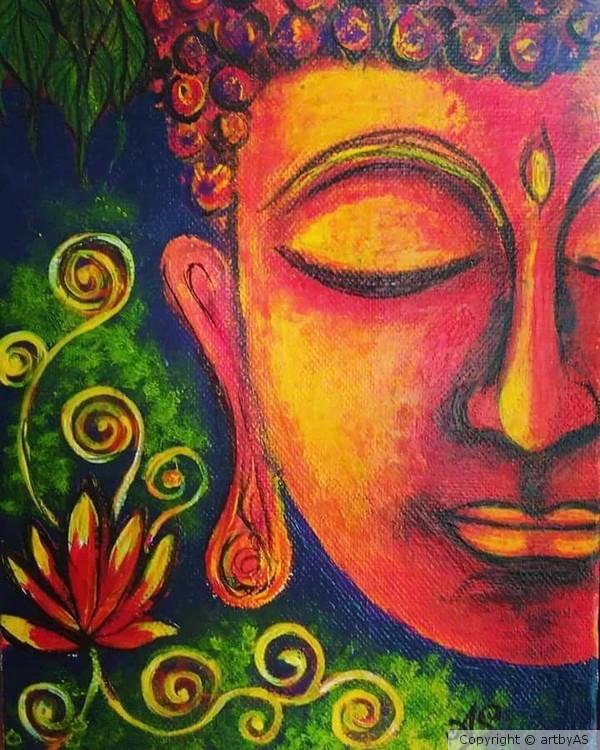 Buddha - serene lover