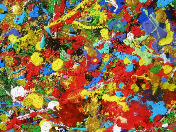 A HAPPY PLACE - ORIGINAL ABSTRACT PAINTINGS