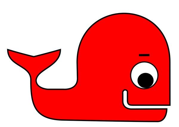 cute whale 1