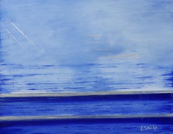 Calm Ocean by Liz Sutcliffe
