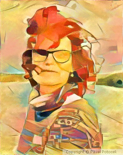Romanka portrait variation IX