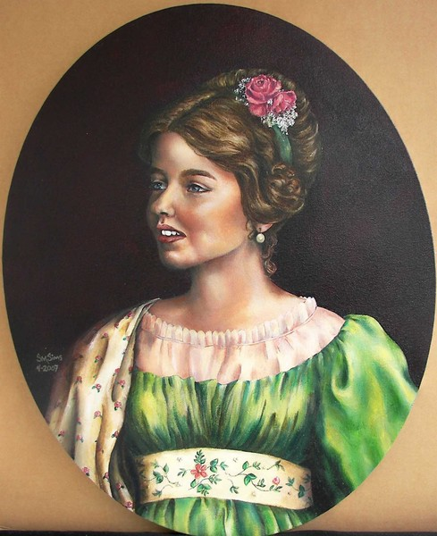Grace in Georgian Period Costume