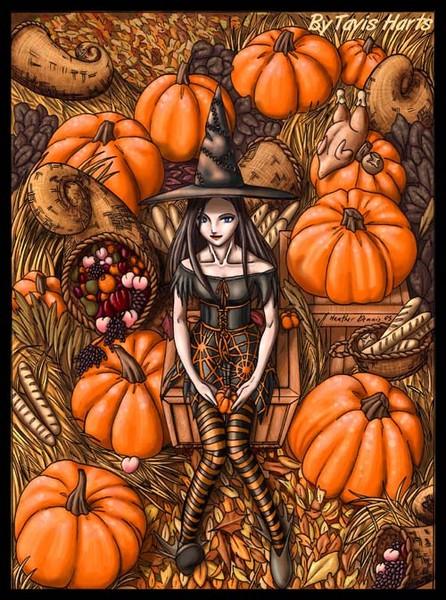 lenore pumpkin harvest