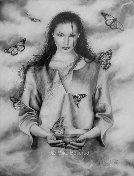 The Butterfly Maiden