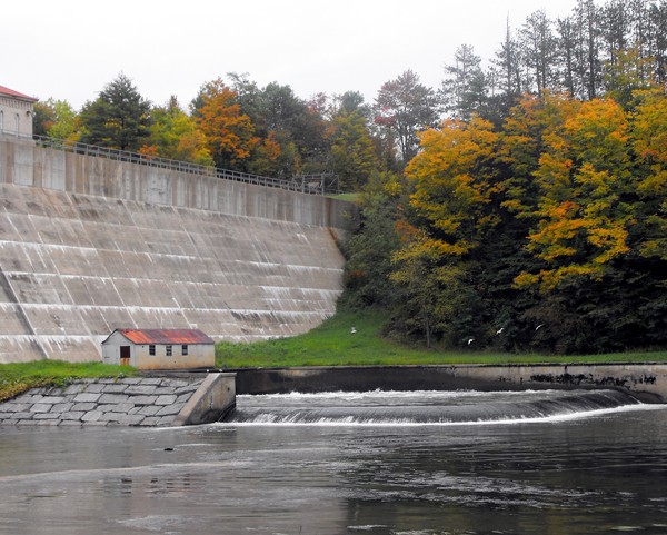 Delta Lake Dam,Rome, N.Y. Autumn 2008